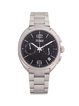 Stainless Steel Chronograph Watch FENDI