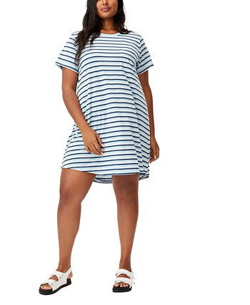 Trendy Plus Size Relaxed T-shirt Dress COTTON ON