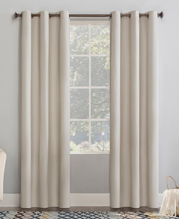 """Lindstrom Textured Draft Shield Grommet Curtain Panel, 40"""" x 63"""" No. 918"""