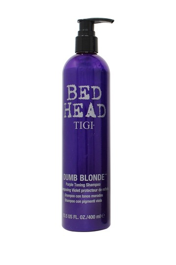 Tigi Bed Head Dumb Blonde Purple Toning Shampoo - 13.5 oz. TIGI