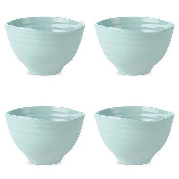 Sophie Conran Celadon Small Footed Bowl Set of 4 Portmeirion