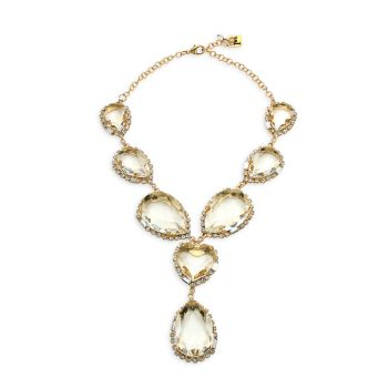 Glass Crystal Necklace Rosantica