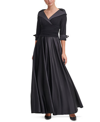 Portrait-Collar Gown Jessica Howard