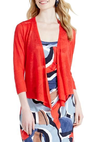4-Way Convertible Three Quarter Sleeve Cardigan NIC+ZOE