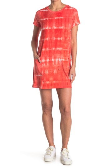 Tie-Dye Pocketed T-Shirt Dress KENEDIK