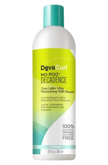 No-Poo Decadence Zero Lather Ultra-Moisturizing Milk Cleanser - 32 oz DevaCurl