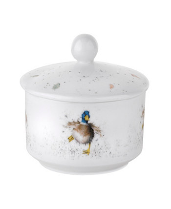 Wrendale Sugar Pot - Waddle and a Quack Royal Worcester