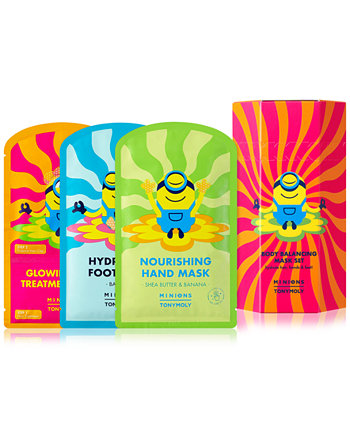 3-Pc. Minions Body Mask Set TONYMOLY