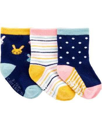 Carter's 3-Pack Bunny Socks Carters