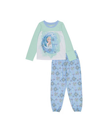 Frozen Little and Big Girls 2-Piece Pajama Set AME