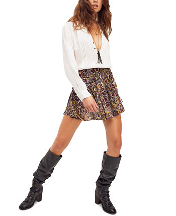 Saturday Sun Mini Skirt Free People