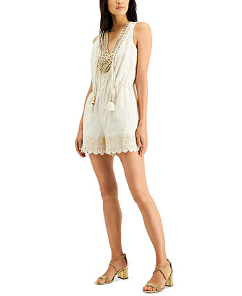 INC Embellished Romper, Created for Macy's INC International Concepts