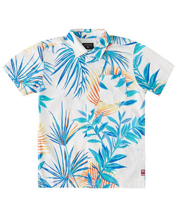 Big Boys Hi Garden of Eden Shirt Quiksilver