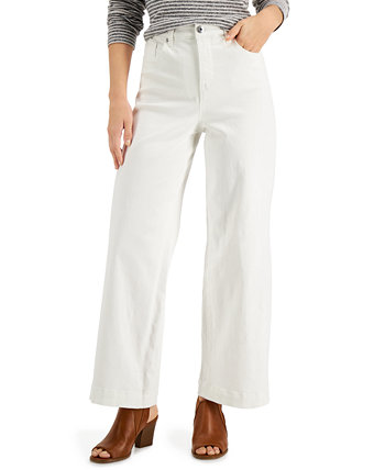 Wide-Leg Tummy-Control Jeans, Created for Macy's Style & Co