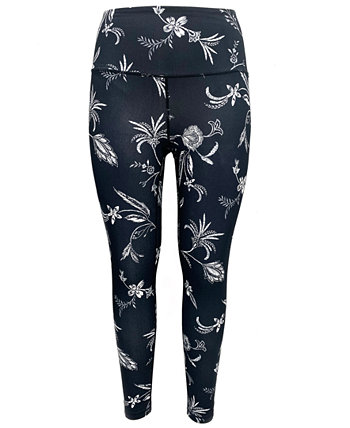 Floral-Print Pocket Leggings, Created for Macy's Ideology