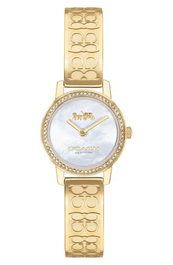 22MM AUDREY BRACELET WATCH COACH