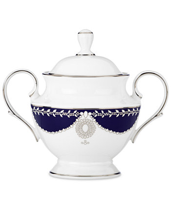 Empire Pearl Collection 2-Pc. Lidded Sugar Dish Marchesa by Lenox
