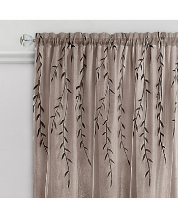 Willow Rod Pocket Window Curtain Panel, 42x84 Achim