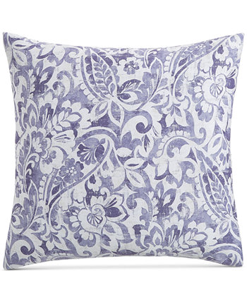 CLOSEOUT! Textured Paisley Cotton 300-Thread Count European Sham, Created for Macy's Charter Club