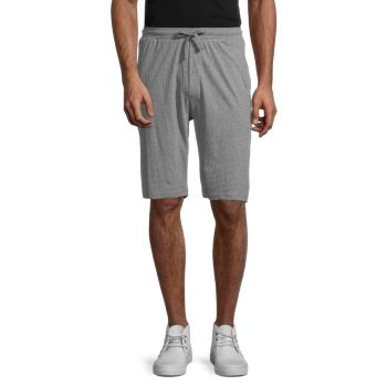 Drawstring Cotton-Blend Shorts Unsimply Stitched