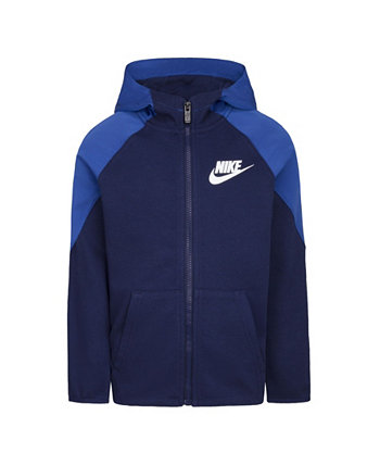 Little Boys Dri-FIT French Terry Full-Zip Hoodie Nike