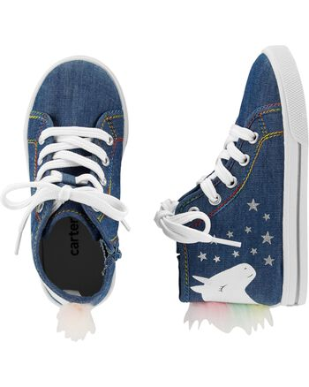 Carter's Unicorn High Top Sneakers Carters