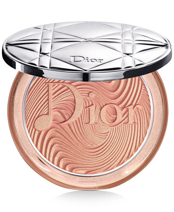 Обнаженный порошок Luminizer Highlighter - Glow Vibes Limited Edition Dior
