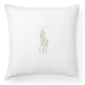 "Pony Throw Pillow  20"" Ralph Lauren"