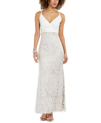 Petite Embellished Gown Vince Camuto