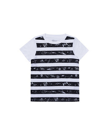 Toddler Boys Short Sleeve Striped Graphic Tee Epic Threads