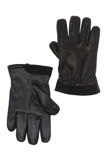 Captain Pieced Leather Gloves UGG