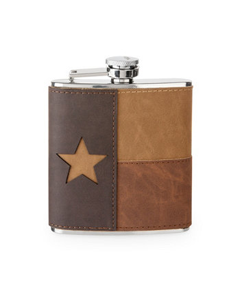 Leather Texas Flask Foster & Rye