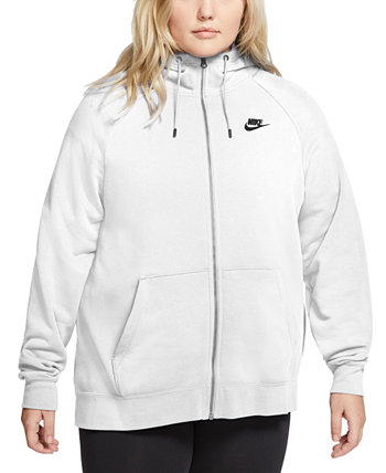 Sportswear Essential Plus Size Full-Zip Hoodie Nike