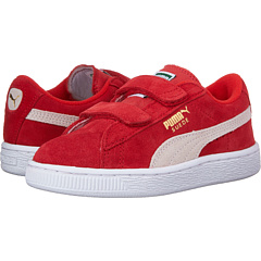 Suede 2 Straps (Little Kid) Puma Kids