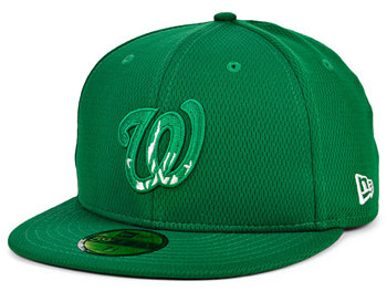 Washington Nationals 2020 Men's St. Pattys Day Fitted Cap New Era