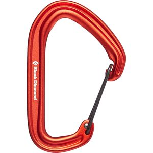 Black Diamond HotWire Carabiner Black Diamond