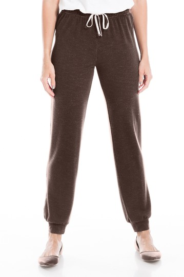 Heathered French Terry Joggers Max Studio