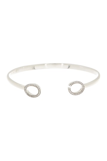 Sterling Silver Open Pave Cuff  Ippolita