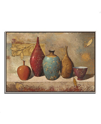 "Leaves and Vessels by James Wiens Fine Art Giclee Print on Gallery Wrap Canvas, 38"" x 26"" Tangletown Fine Art"