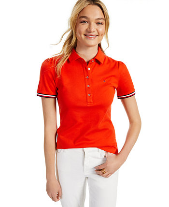Cotton Puff-Sleeve Polo Tommy Hilfiger