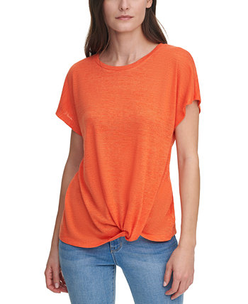 Knot-Front Top DKNY Jeans