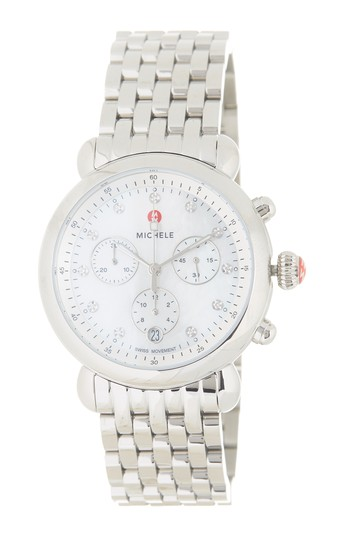 Women's CSX Diamond Embellished Bracelet Watch, 38mm Michele