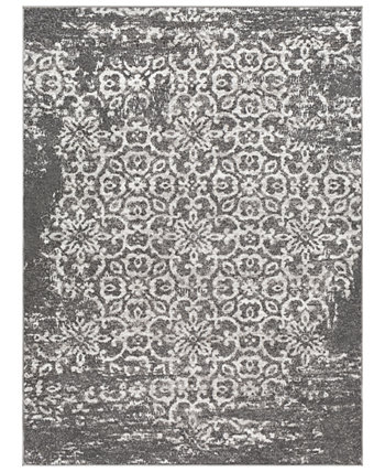 """& Allie Rugs MNC-2305 Charcoal 5'3"""" x 7'3"""" Area Rug Abbie & Allie Rugs"""