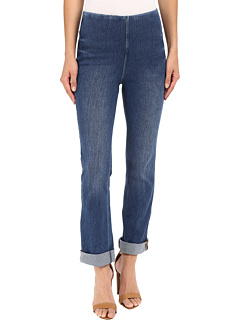 Rolled-Cuff Boyfriend Denim Lysse