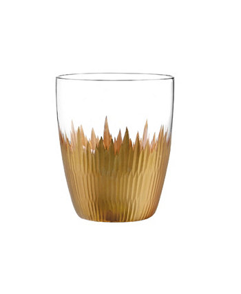 Lava Double Old Fashioned Glasses, Set Of 4 Qualia Glass
