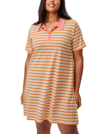 Trendy Plus Size Tina Polo Mini Dress COTTON ON