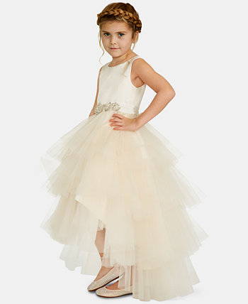 Toddler Girls Satin Tulle Fairy Dress Rare Editions