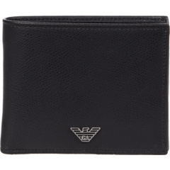 Stamped Leather Wallet Emporio Armani
