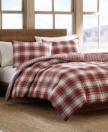 Edgewood Plaid Twin Duvet Cover Set Eddie Bauer
