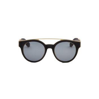 52mm Tinted Aviator Frame Givenchy